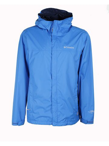 Columbia Blue Anorak Jacket - M
