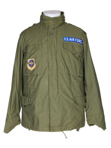 80's U.S Airforce Green Field Jacket - M