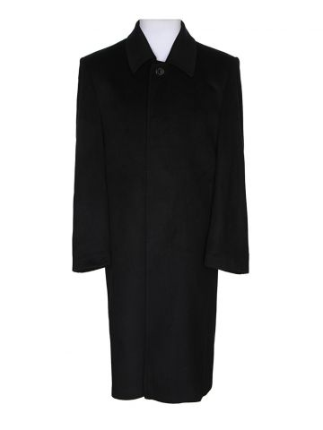 Blue Cashmere Overcoat – L