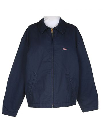 "Dickies Blue Harrington Jacket ?€"" XL"