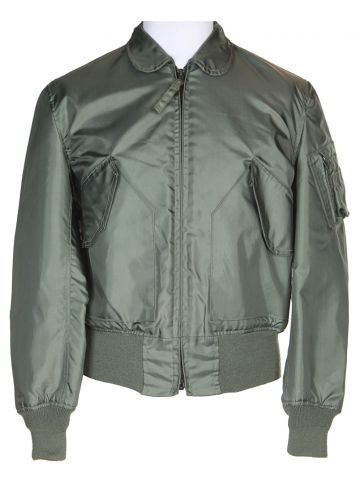 90s Green Alpha Industries Military Flying Jacket – M