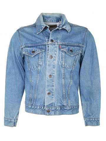 Levis Denim Trucker Jacket in Blue - S