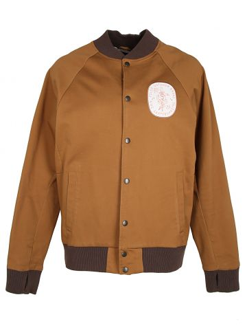 Nike SB Brown Canvas Skateboarding Jacket - L