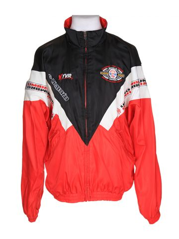 "90s Red Umbro Sport Track Jacket ?€"" XL"