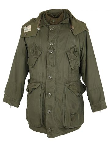 70s Canadian Extreme Weather Combat Parka - M?