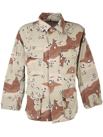 US Army Chocolate Chip Camouflage Shirt - M