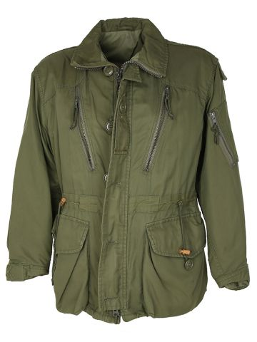 1980s Green Canadian Combat Jacket - L