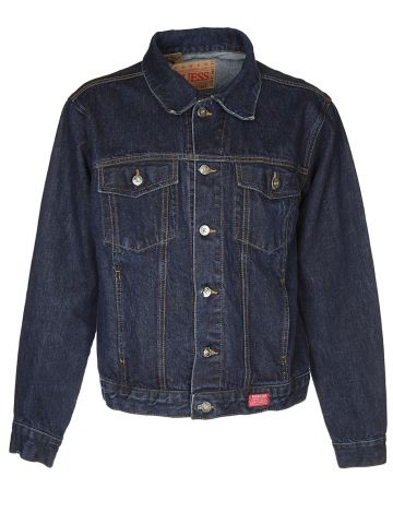 Guess Blue Denim Jacket - M